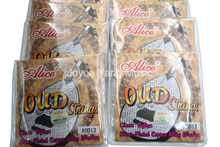 10 Sets of Alice AOD 10/11/12 OUD Strings Clear Nylon Silver Plated Copper Alloy Wound 10 11 12 String Free Shipping Wholesales