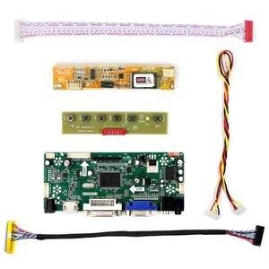 Image 2 - LQ164D1LD4A 16.4 אינץ 1600x900 בקר לוח עם HD MI DVI VGA אודיו LCD עבודת לוח 30 סיכות LVDS ממשק LCD מסך