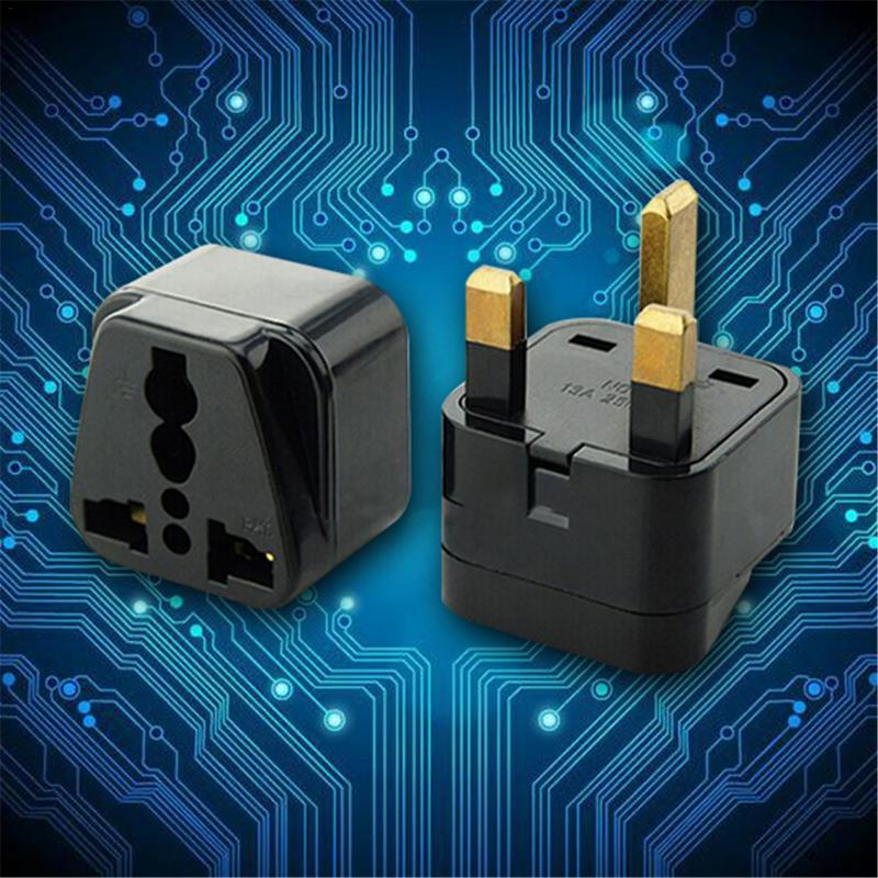 US to <font><b>UK</b></font> <font><b>Plug</b></font> Adapter <font><b>Plug</b></font> Power Converter <font><b>3Pin</b></font> Socket Travel Adapter #BO image