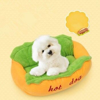 Alfombra de perro caliente perrera mascota cama de algodón gato nido Perrera de cachorro plegable y limpieza perrera invierno suave alfombra mascota suministros