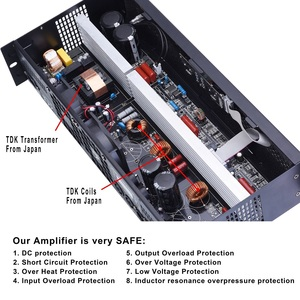 Image 4 - Профессиональный усилитель мощности Mosfet, 2 канала, класс D, 400 Вт, 8 Ом, вечерние усилители для дома, цифровой усилитель