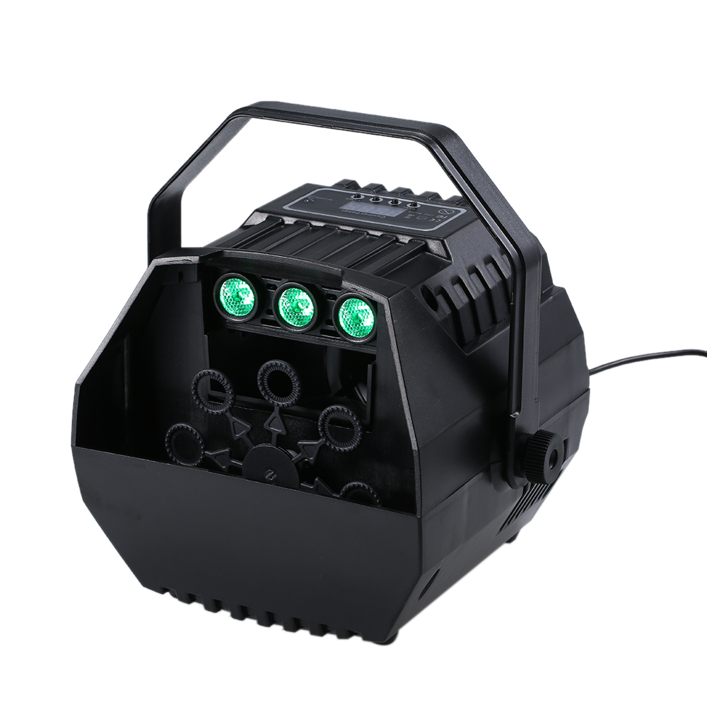 Image 3 - LED Laser Stage Lights Wireless Remote Control Bubble Machine Automatic Romantic Effect Light for Wedding Parties Festivals-in Stage Lighting Effect from Lights & Lighting