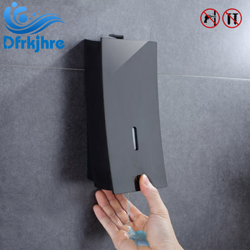 Liquid Soap Dispensers 450ML Wall Mounted Bathroom Liquid Hand Soap Dispenser Kitchen Fitting liquid soap dispensers wall mounted 1000ml 500ml stainless steel manual shampoo dispenser kitchen bathroom fitting for hand soap