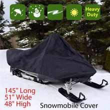 Housse de motoneige étanche, anti-poussière, traîneau, stockage Anti-UV, polyvalente, pour moto d'hiver et d'extérieur, 368x130x121cm