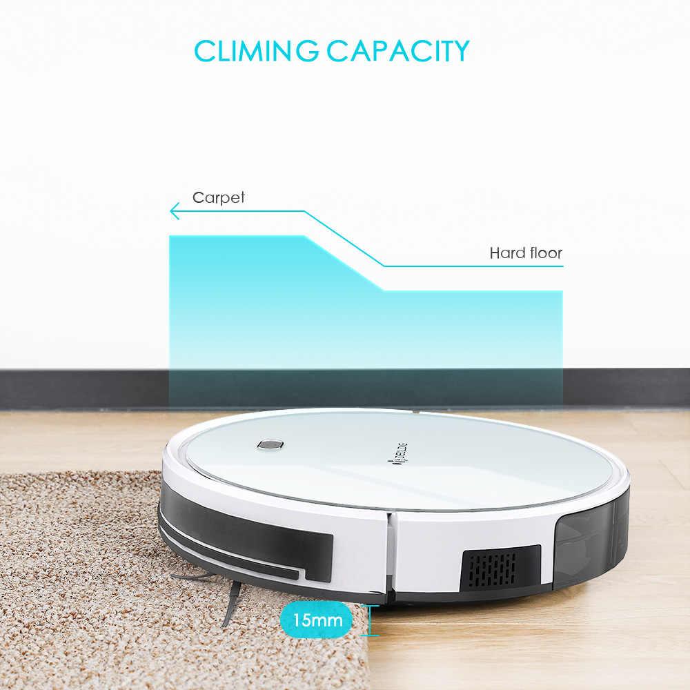 Dealdig Robvacuum 8 Robot Vacuum Cleaner Aspirator Pengaturan Waktu Rambut Hewan Peliharaan Rumah Kering Basah Mengepel Robot Pembersih Aplikasi Remote Control