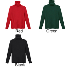 New Women Autumn winter long sleeve High collar sweater pullover chic ladies girl female Thicker Solid color Slim sweater