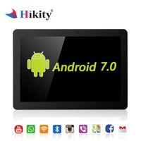 Hikity 10,1 дюймов Android 7,0 Автомобильный подголовник монитор 4G wifi USB/SD/HDMI/IR/FM задняя фронтальная камера игры сенсорный экран приложение монитор
