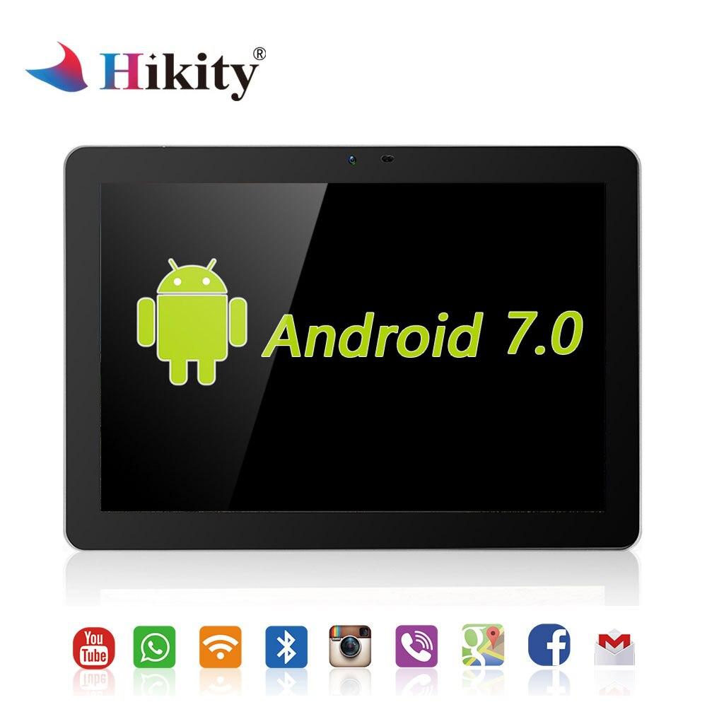 Hikity 10.1 pouces Android 7.0 voiture appuie-tête moniteur 4G WIFI USB/SD/HDMI/IR/FM avant arrière caméra jeux écran tactile APP moniteur
