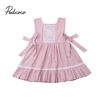 d959e1a01d8ee Été fille princesse robe enfants bébé fête Pageant Tutu robes vêtements  pour 2-5 ans choisir