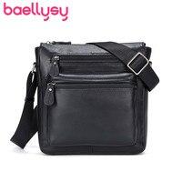 Vintage Style Men Shoulder Bag Crossbody Bags For Men Genuine Leather Messenger Bags Satchel Leather Men Bolso Hombre Sac Homme