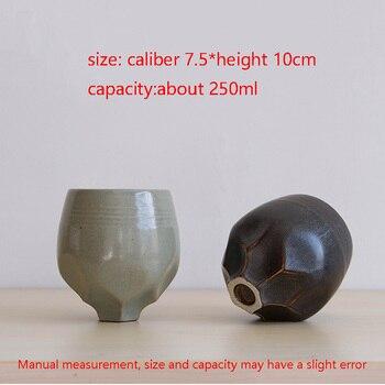 Freunde Kaffee Haferl | 250 Ml Japanischen Stil Handgemachte Keramik Groben Keramik Kaffee Milch Tasse Büro Master Kunst Wasser Becher Haushalts Drink Gesendet Freund