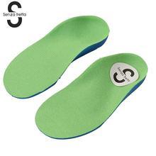 Senza Fretta Orthopedic Insoles Children Kids Orthopedic Insoles Children Flat Foot Arch Support Orthotic Pads Correction Insole