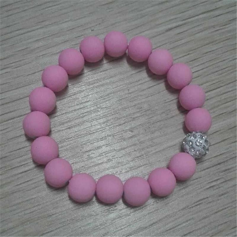 Shambhala elastik boncuk kadınlar için bilezikler takı Pinkycolor bilezik Femme bilezik ve bilezik kadın aksesuarları kadın hediye
