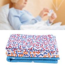 Моющиеся Многоразовые недержание под впитывающие прокладки хлопок кровать впитывающие прокладки для пожилых детей забота о здоровье