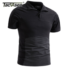 TACVASEN erkekler kamuflaj taktik t shirt yaz hızlı kuru askeri ordu savaş t shirt kısa kollu Camo Airsoft en Tees 3XL