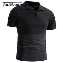 Tacvasen 男性迷彩、戦術的な tシャツ夏クイックドライ軍事陸軍戦闘 tシャツ半袖迷彩エアガントップ tシャツ 3XL