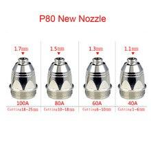 Cutting-Gun Torch-Accessories Nozzle Plasma-Cutter P80 Electrode Tips CNC 100PK Inverte