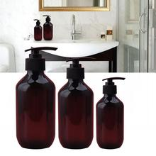 100ML 300ML 500ML PET Lotion  Shampoo  Shower Gel Bottle Hand Sanitizer Bottle Soap Empty Pump Bottles цена
