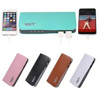 Thin Portable 13000mAh Portable Charger Powerbank Pawer Bank Power Supply External Batery Poverbank Charging