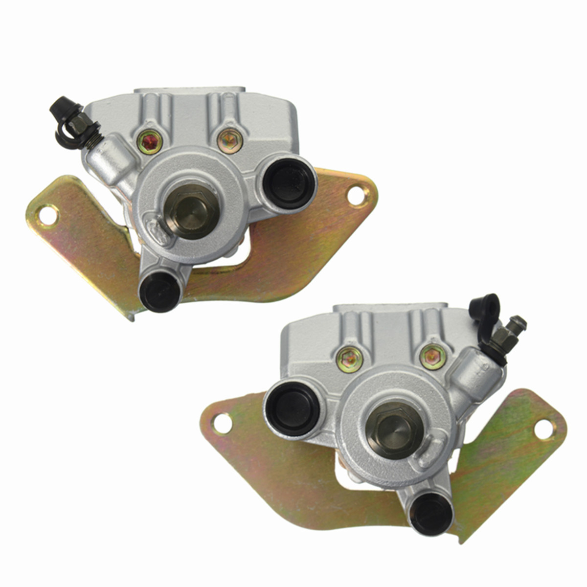 New 2Pcs ATV Front Brake Caliper for Honda Rancher 420 TRX420 07-15 Foreman US