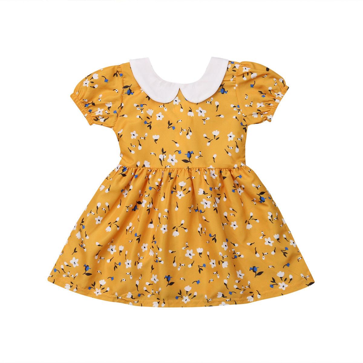 ef38de9ac Buy toddler peter pan collar dress pattern and get free shipping on  AliExpress.com