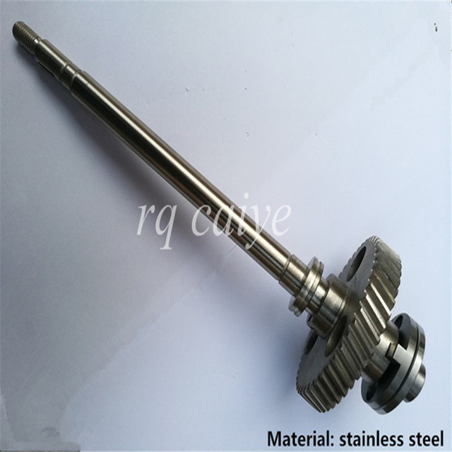 Stainless steel quality SM52 water roller gear shaft G2.030.201 R2.030.207 MV.101.755 MV.022.730