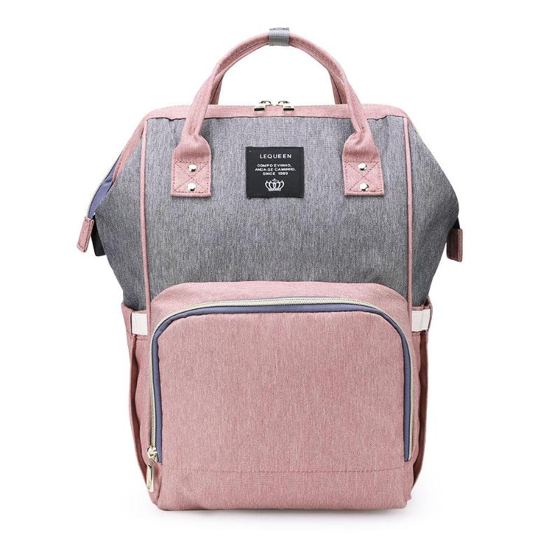 2019 Mummy Bagpack Women's Maternity Waterproof Diaper Hand Bag USB Port Large Capacity Mummy Backpacks