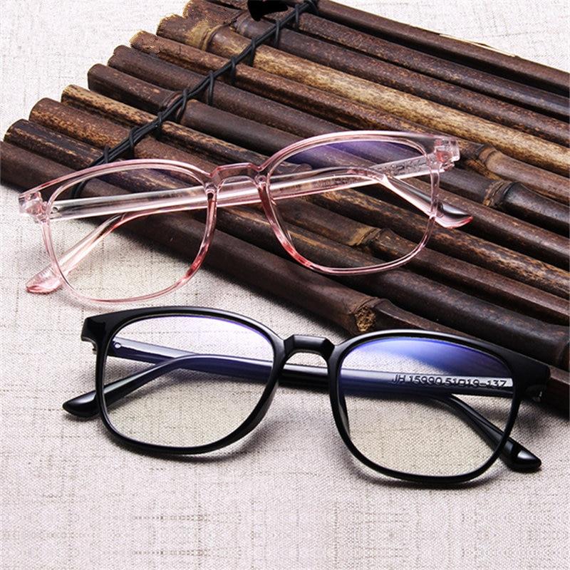 Oulylan Transparente Óculos Quadros Homens Mulheres Óculos Falsos Senhoras Retro  Óculos de Miopia Óptico Óculos Frames 708e7b61d8