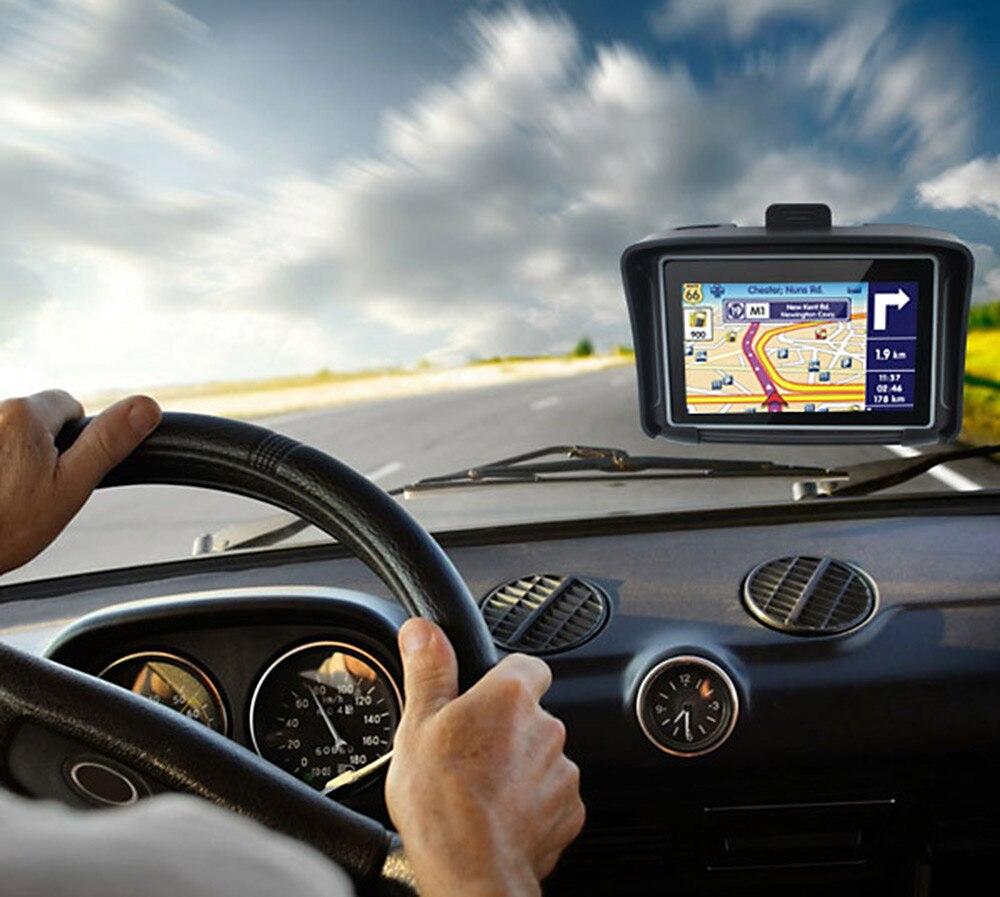 Navigateur de vélo de Moto de Navigation de GPS de Moto imperméable Original de 4.3 pouces avec le Flash de Bluetooth 8G