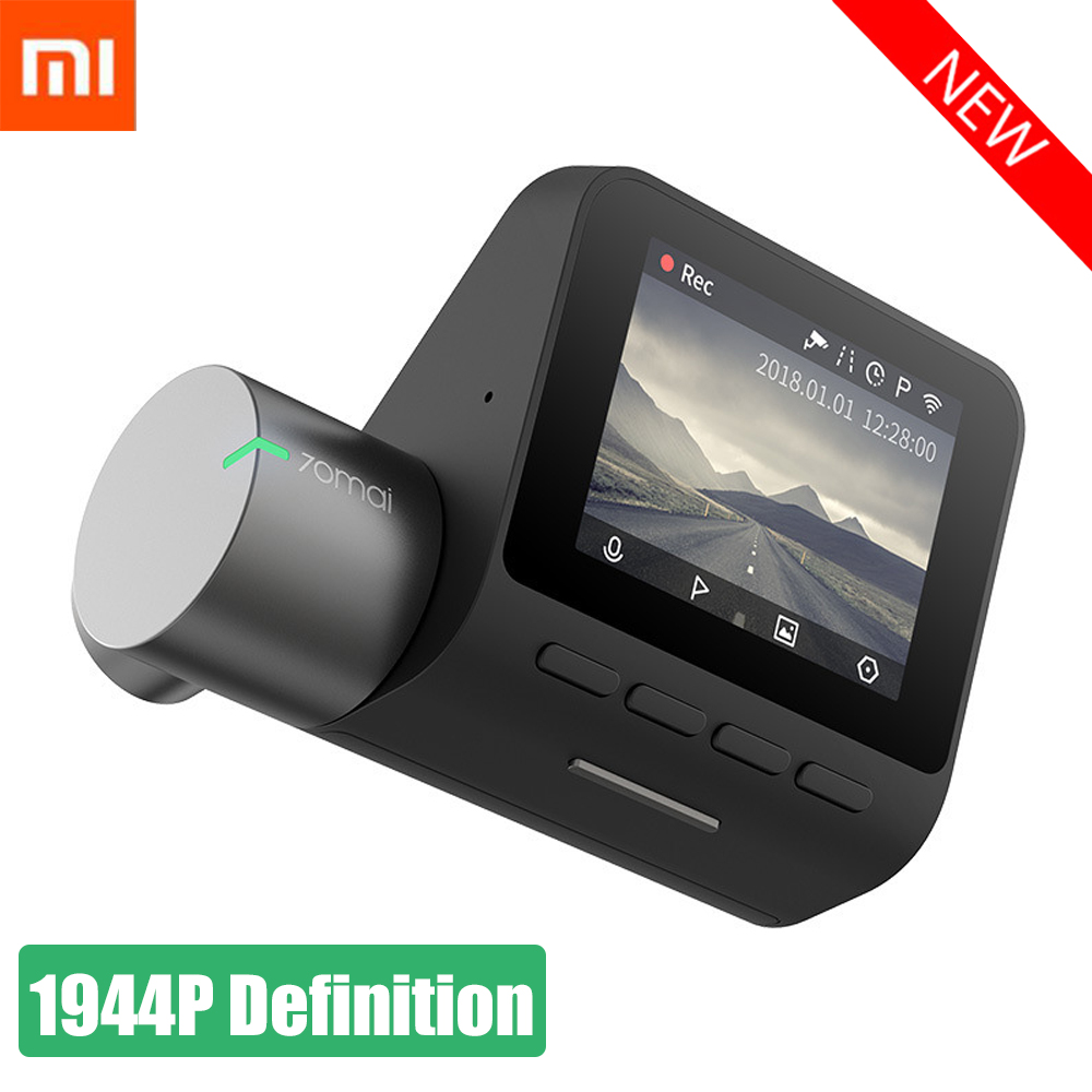 Original Xiaomi 70 Mai inteligente cámara grabadora de conducción inteligente grabadora Invertir imagen perro electrónico