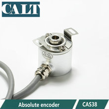 CAS38H13E06SGB /08SGB 13 bits SSI output 6mm 8mm Semi-hollow shaft absolute encoder gtk3808 5 24v photoelectric rotate encoder abz 3 phase hollow shaft general purpose encoder