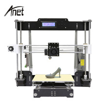 High Speed Anet A8 Sla 3D Printer Industrial Desktop 3d Printer FDM Large Printing Machine for Home DIY with LCD Screen wanhao d5s mini desktop 3d printer with high performance and accuracy industrial level with printing size 290 190 190mm