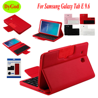 Wireless Bluetooth Keyboard Case For Samsung Galaxy Tab E T560 T561 T565 9.6'' Tablet Protective CasePU Leather Smart