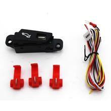 Автомобиль выключатель защёлки багажника сборка кнопок для Chevrolet Cruze 2009 до 2014 Чемодан коробки открывать и закрывать переключатель сборки автомобиля укладки