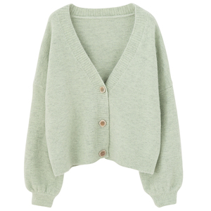 Image 1 - PEONFLY Cardigans Women Long Sleeve Sweaters Winter Casual Loose Cover up Tops Autumn Female Solid Wool Warm Sweaters Fashion