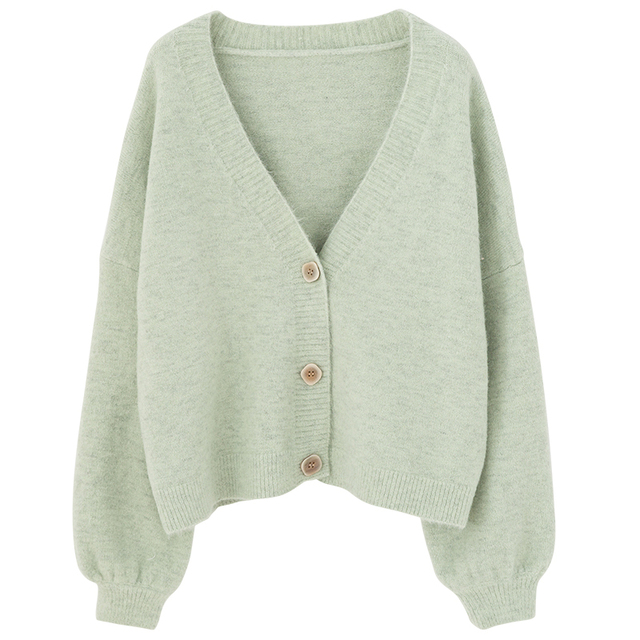 PEONFLY Cardigans Women Long Sleeve Sweaters Winter Casual Loose Cover up Tops Autumn Female Solid Wool Warm Sweaters Fashion