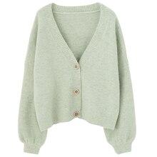 PEONFLY אפודות נשים ארוך שרוול סוודרים החורף מקרית Loose לחפות חולצות סתיו נשי מוצק צמר סוודרים חמים אופנה