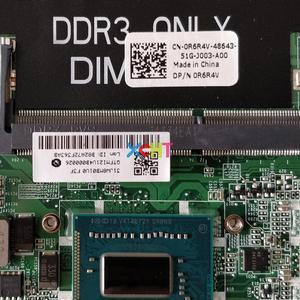 Image 3 - CN 0R6R4V 0R6R4V R6R4V DA0JW8MB6F1 w I3 3217U CPU w N13P GV2 S A2 GPU para Dell Vostro 5460 ordenador portátil placa base