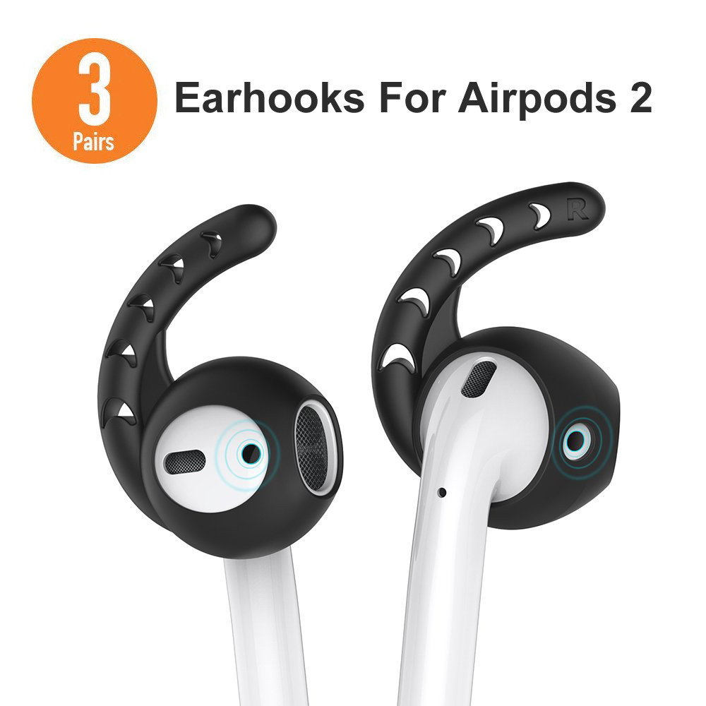 1 Pair Replacement Antislip Ear Cover Hook Earbuds Tips Earphone for AirPod Hot