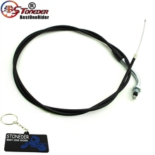 "STONEDER 1350mm 53"" Throttle Cable For ATV Pit Dirt Bike Chopper"