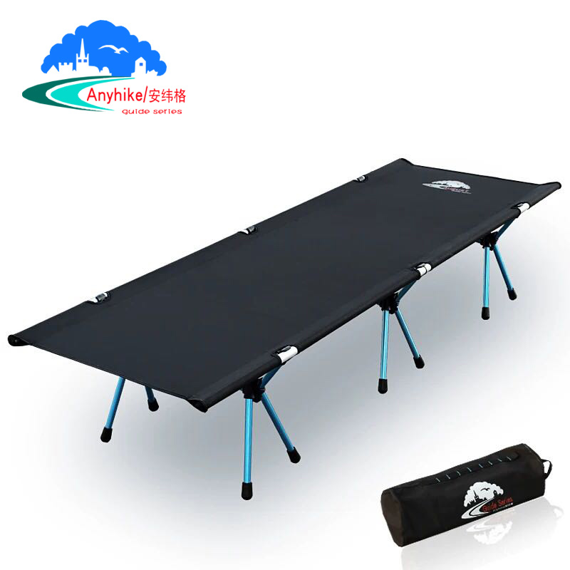 Outdoor Camp Bed Comfortable Portable Tent Bed Camping Foldable Bed Anyhike Folding Cot With Pillow