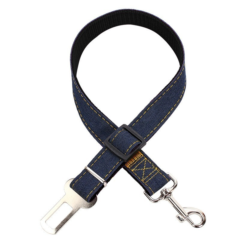 Nylon Dogs Vehicle Car Seatbelt Retractable Leashes Clip Suitable For Use Dog Cat Harness Collars Safety Dogs In Car Pet Product in Seat Belts from Home Garden