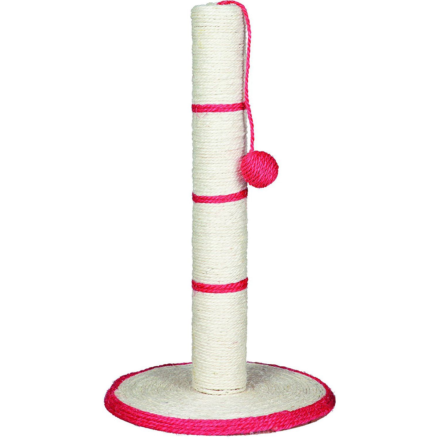 Image 2 - Cat Tree   Pole Scratcher with Ball (Toy) Pet Scratch Sisal Tree Furniture Protector Cat Play Toys   Random Color-in Cat Toys from Home & Garden