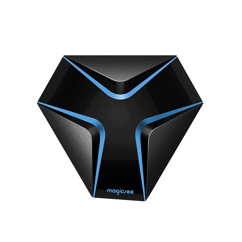 Magicsee fer Android 7.1 Wifi TV Box Amlogic S905X Quad Core 2G + 16G Smart TV Box avec décodeur HD 4 K prise EU