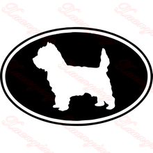 Cairn Terrier Dog Vinyl Decal Creative Car Stickers Car Styling Truck Decoration Motorcycle Vinyl Decal Exterior Accessories JDM цена