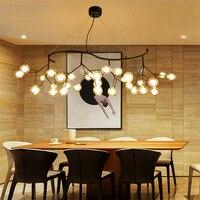 Скандинавский светодиодный стеклянный подвесной светильник столовая кухня светильники светодиодный подвесной светильник Романтический