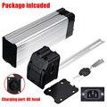 Kunststoff Batterie Box für Elektrische Fahrrad 36 V/48 V Große Kapazität 18650 Halter Fall