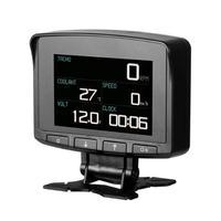 PRO OBD II HUD Head Up Display Car Computer Digital Speedometer Overspeed Alarm Engine Water Temperature Warning Diagnostic Tool