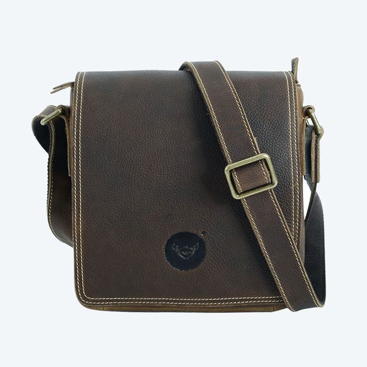 Brand Genuine Leather Casual Cross Body Shoulder Bag Men's Messenger Bags Male Cowhide Travel Pack For Cell Phone Wallet