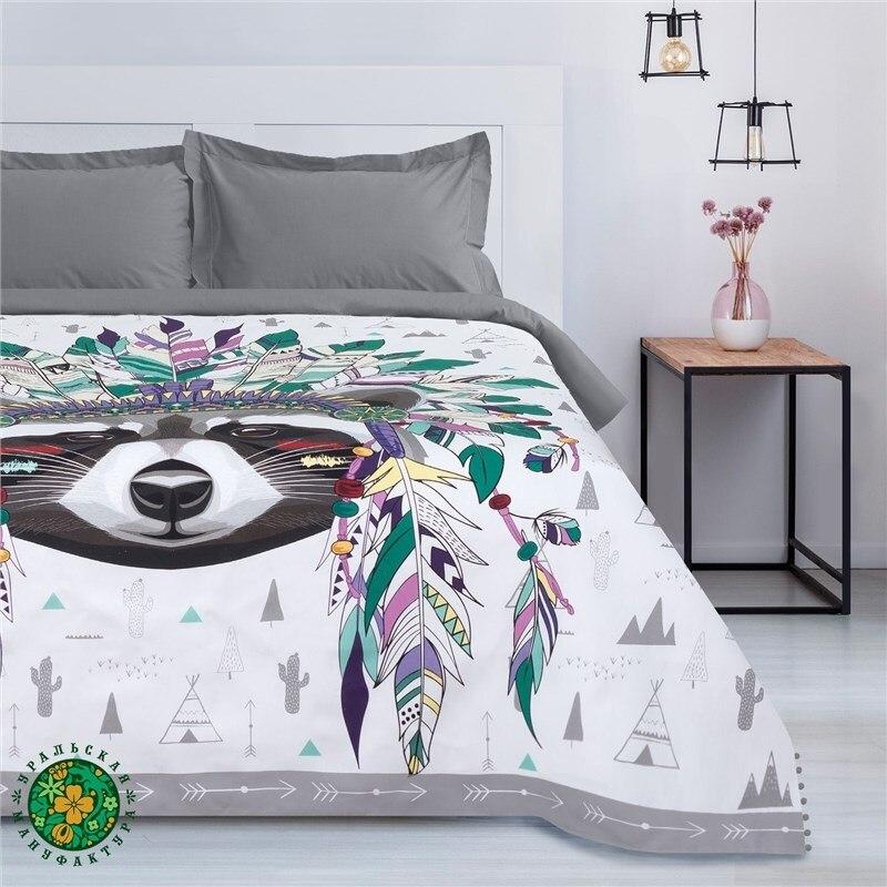 Bedspread Ethel Indian style, 200*215 cm, cotton 3989297 deidi von schaewen indian style